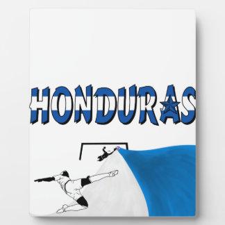 Honduras Display Plaque