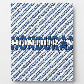 Honduras Plaque