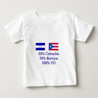 Honduras Puerto Rico - modificado para requisitos Playera De Bebé