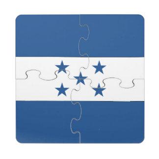 Honduras Puzzle Coaster