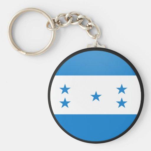Honduras quality Flag Circle Keychain