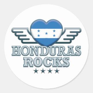 Honduras Rocks v2 Classic Round Sticker