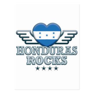 Honduras Rocks v2 Post Card