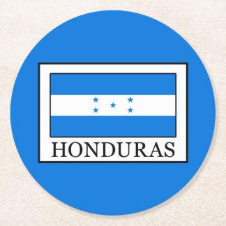 Honduras Round Paper Coaster