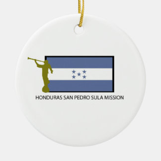 HONDURAS SAN PEDRO SULA MISSION LDS CTR CERAMIC ORNAMENT