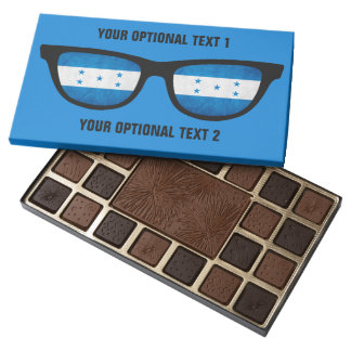 Honduras Shades custom chocolate box