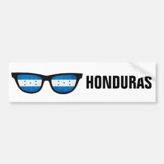 Honduras Shades custom text & color bumpersticker Bumper Sticker