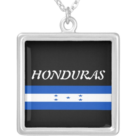 Honduras Silver Plated Necklace