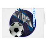 HONDURAS SOCCER BALL PRODUCTS GREETING CARDS