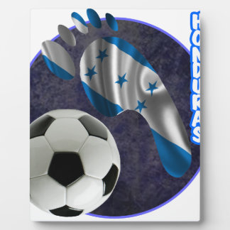HONDURAS SOCCER BALL PRODUCTS DISPLAY PLAQUE