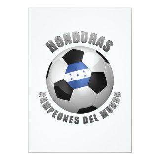 HONDURAS SOCCER CHAMPIONS CARD