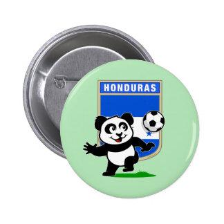 Honduras Soccer Panda Pin