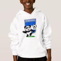 Honduras Soccer Panda Hoodie