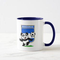Combo Mug with Honduras Football Panda design