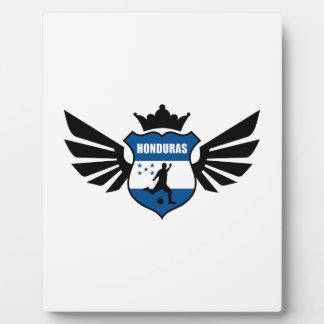 Honduras soccer plaques
