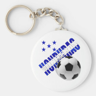 Honduras soccer stars football ball artwork design keychain