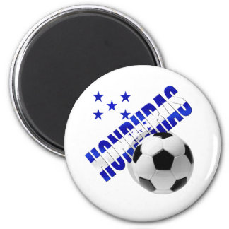 Honduras soccer stars football ball artwork design magnets