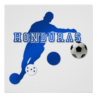 Honduras Soccer t-shirts and gifts Poster