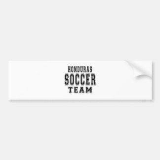 Honduras Soccer Team Car Bumper Sticker