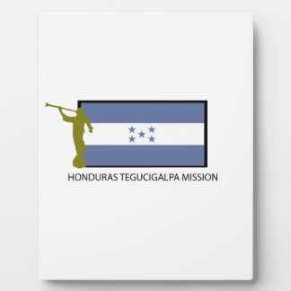 HONDURAS TEGUCIGALPA MISSION LDS CTR DISPLAY PLAQUES