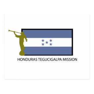 HONDURAS TEGUCIGALPA MISSION LDS CTR POSTCARD