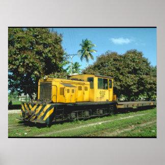 Honduras, Tele RR_Trains of the World Poster