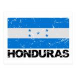 Honduras Vintage Flag Post Card