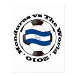 Honduras vs The World Post Cards