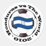Honduras vs The World Stickers