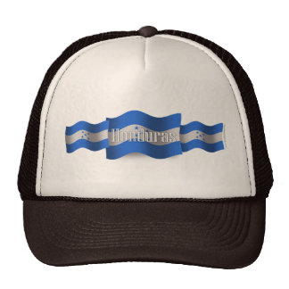 Honduras Waving Flag Trucker Hat
