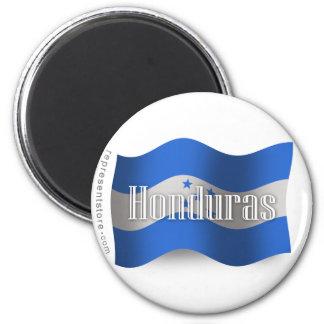 Honduras Waving Flag Fridge Magnet