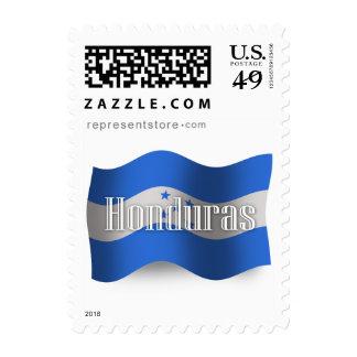 Honduras Waving Flag Postage