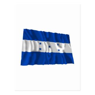 Honduras Waving Flag Postcard