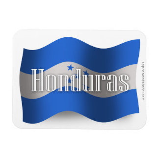 Honduras Waving Flag Rectangular Magnets