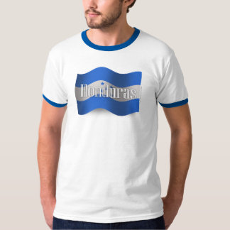 Honduras Waving Flag Tee Shirt