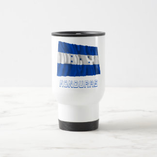 Honduras Waving Flag with Name Coffee Mugs