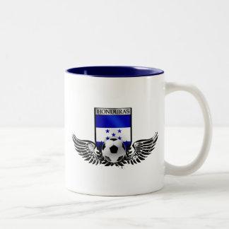 Honduras winged Honduran soccer futbol badge Two-Tone Coffee Mug