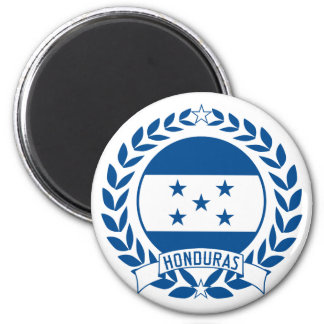 Honduras Wreath Refrigerator Magnet