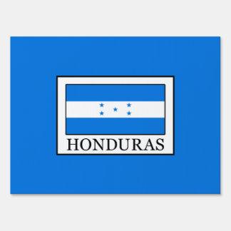 Honduras Yard Sign