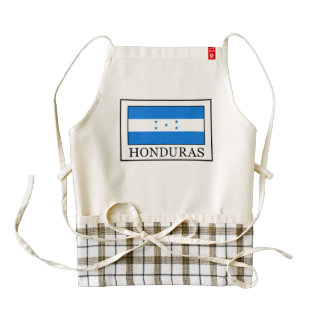 Honduras Zazzle HEART Apron