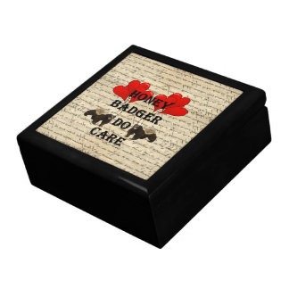Hone badger do care jewelry box
