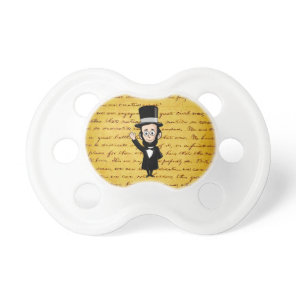 Honest Abe and His Gettysburg Address Pacifier