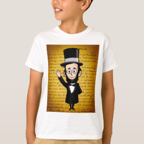 Honest Abe and His Gettysburg Address T-Shirt