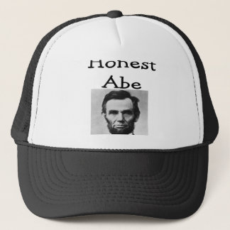 """Honest Abe"" Lincoln T-Shirts and Gifts Trucker Hat"