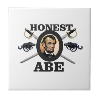 honest abe with swords tile