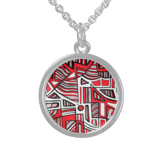 Honest Exuberant Beaming Nice Round Pendant Necklace