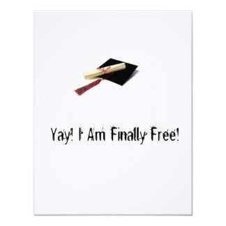 Honest Graduation Invitations