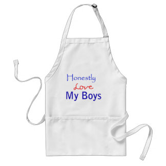 Honestly-Love-My-Boys Adult Apron