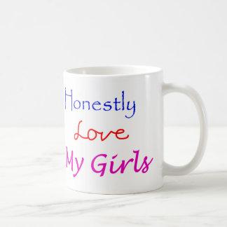 Honestly-Love-My-Girls Classic White Coffee Mug