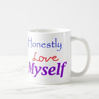 Honestly-Love-Myself Classic White Coffee Mug